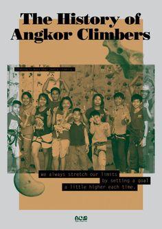 Angkor Climbers Net グローバルフェスタ用パンフ
