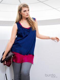 Top doppio strato - Shirt&Top - Donna - Shop & Cartamodelli Il mondo dei cartamodelli e del cucito