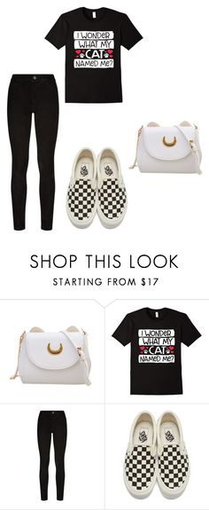 """""""Cat look"""" by lucystrauss on Polyvore featuring Paige Denim and Vans"""