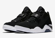 quality design 9a61f 138c1 Charles Barkley Nike Air Force 180 Black White Size 12 RARE 310095 003 for  sale online