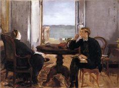 Edouard Manet - Interior at Arcachon [1871]