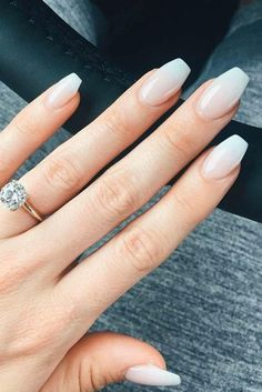 Nail Art - 30 Exquisite Ideas of Wedding Nails for Elegant Brides Looking for some wedding nails inspiration? Our collection of exquisite ideas will help you complete your bridal look. Save these ideas for later. Cute Nails, Pretty Nails, Hair And Nails, My Nails, Bride Nails, Wedding Nails Design, Nail Design, Wedding Designs, Nagel Gel