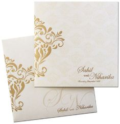 Sober and elegant. These cool and classy invitation cards will set the right tone for your   upcoming stylish event..