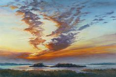 """Touched by Janet B. Sessoms Oil ~ 31"""" x 43.25""""  framed"""
