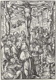 Artist: Cranach d. Ä., Lucas, Title: Folge zur »Passion Christi«, Kalvarienberg, Date: 1st half of the 16th century