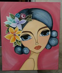 Discover recipes, home ideas, style inspiration and other ideas to try. Art Sketches, Art Drawings, Drawing Faces, Abstract Face Art, Grand Art, Arte Pop, Whimsical Art, Art Plastique, Fabric Painting