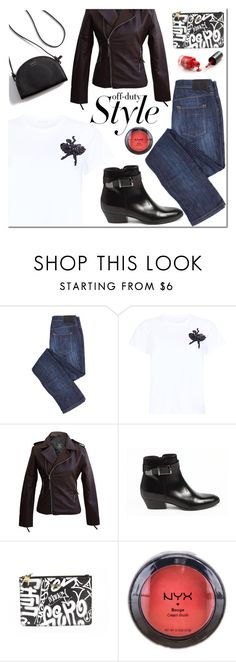 """""""Untitled #2064"""" by mada-malureanu ❤ liked on Polyvore featuring Marc Jacobs, Barbara Bui, Moschino and NYX"""