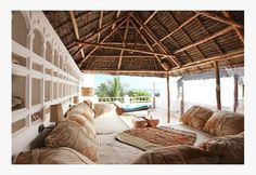 Stone House Style 4- ancient and modern minimalist designed beach boutique hotels - coastal hippie dream house - simple organic bohemian architecture - bohemian decor and interior design - Lamu authentic African architecture with Arabian accents - 02