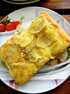 DOLCEmente SALATO: Focaccia con le patate