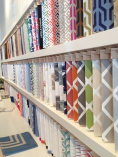 Cool Wallpaper Display At Osborne And Littles Showroom