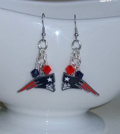 Patriots Earrings