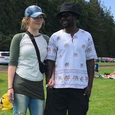 When you go on a Safari  #roadtrip #safaritrip #mybetterhalf #couplestyle #safaristyle #interracialswag #interracialcouple ❤️ #interracialdating