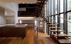 建築家:鳥山敦生「NAG-house スキップフロアーの家」