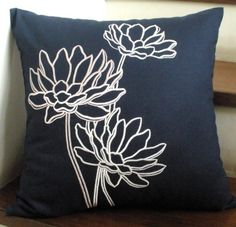 Water Lily Pillow Cover