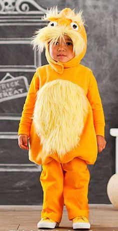 Seuss's™ The Lorax Costume First Halloween, Scary Halloween, Fall Halloween, Halloween Ideas, Baby Costumes, Cool Costumes, Animal Costumes, Holiday Costumes, Halloween Costumes