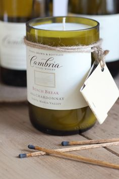 DIY Wine Bottle Candles | Make Your Own Candles Using a Wine Bottle and Soy Wax