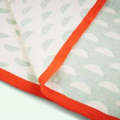Over the Moon Avery Row Cotton Knitted Blanket