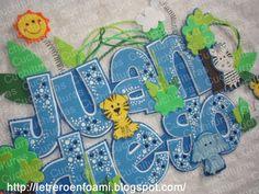 Ideas Para Fiestas, Safari, Frozen, Banner, Lettering, Portal, Crafts, Embellishments, Hand Crafts
