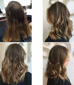 Combinez un traitement Olaplex avec votre coloration.  Pour en savoir plus demander à votre Colorist.  Olaplex treatment is always a good idea when getting a color done.  Ask your Colorist about it. #olaplex #aupremier #monkland #montreal #hair #color #aveda