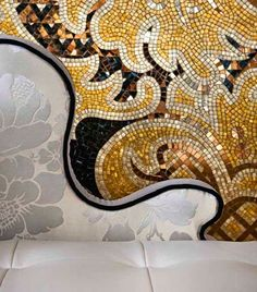 #SICIS #Mosaic #Furniture #Interiors #Art #Tile #TheodoraCollection