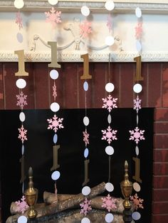 Winter Onederland Birthday Decoration  I am by anyoccasionbanners
