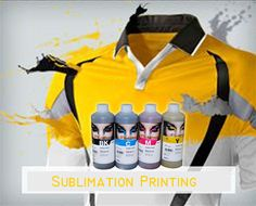 sportwear print by sublimation ink