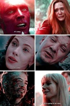marvel avengers Its okay. I love you. Let me go. Were going to be okay. You can rest now. Avengers Humor, Marvel Avengers, Marvel Jokes, Funny Marvel Memes, Marvel Films, Dc Memes, Marvel Characters, Marvel Heroes, Captain Marvel