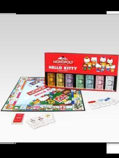 Hello kitty monopoly!