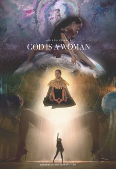 Ariana Grande - God is a woman (Poster by Panchecco on DeviantArt : Ariana Grande - God is a woman (Poster by Panchecco Ariana Grande Fotos, Ariana Grande Wallpapers, Cabello Ariana Grande, Ariana Grande Poster, Ariana Grande Sweetener, Women Poster, Cat Valentine, Thank U, Moonlight