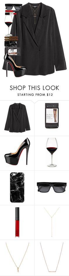 """""""Gravitation is not responsible for people falling in love."""" by quiche ❤ liked on Polyvore featuring Forever 21, Christian Louboutin, Holmegaard, Casetify, CÉLINE, NARS Cosmetics, ZoÃ« Chicco, Yves Saint Laurent and Bungalow 20"""