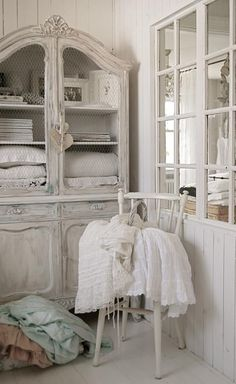 shabby chic french dresser, wardrobe