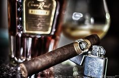 ♂ Really Beautiful Image of Some High Class Cigars and Drinks  You don't light a cigar with a normal lighter…      http://Styleclassandmore.tumblr.com