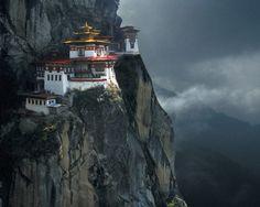 Taktshang - Tiger's Nest Monastery  Bhutan