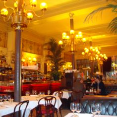 Le Grand Colbert / Paris ( Resturant in Something's   Got to Give-- Diane Keaton    & Jack Nicholson )
