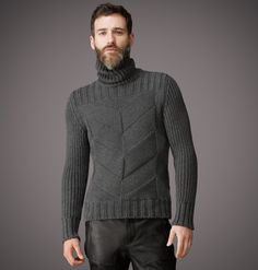 Top Winter Fashion Sweaters for Men Ideas Mens Fashion Sweaters, Knitwear Fashion, Knit Fashion, Sweater Fashion, Men Sweater, Men's Knitwear, Fashion Fashion, Jumper, Pullover Mode