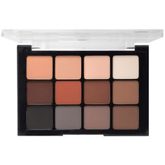 #Viseart Eye Shadow Palette 1 #NeutralMattes | #Beautylish. Used by artists in the French film industry, and makeup artists worldwide-their palettes are stunning in quality! This Viseart Eyeshadow Palette contains the essential neutral matte eyeshadow shades that can be used on any skintone to create countless looks.  They are highly pigmented with a smooth and homogenous texture. The palette can be used for cheek, brows and more.
