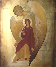 The Annunciation,piękna ikona Zwiastowania-Annunciation icon Religious Images, Religious Icons, Religious Art, Byzantine Icons, Byzantine Art, Kunst Online, Religious Paintings, Blessed Mother Mary, Madonna And Child