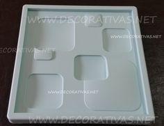 Forma de silicone  Para painéis em gesso modelo 46                                                                                                                                                                                 Mais