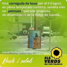 Els Verds rebutgen la promoció protaurina de l'Ajuntament de Gandia i tornen a demanar una consulta popular sobre les corregudes de bous fin...