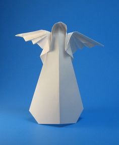 Origami Angel by Toshio Chino folded by Gilad Aharoni
