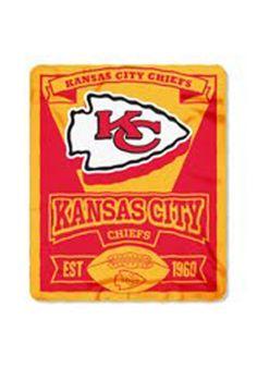 Kansas City Chiefs 50x60 Big Logo Fleece Blanket | KC Chiefs Chiefs Fleece Blanket