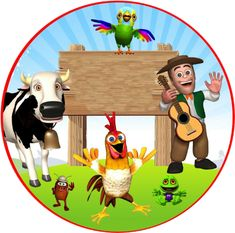 sticker by Maximiliano. Discover all images by Maximiliano. Find more awesome zenon images on PicsArt. Monster Birthday Parties, Birthday Party Themes, Farm Birthday, Farm Theme, Great Artists, Picsart, First Birthdays, Crafts, Collections