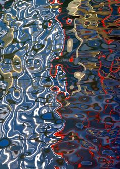 Available for sale from Dolby Chadwick Gallery, Barbara Vaughn, Syndesi II Archival Pigment Print, 68 × 48 in Reflection Art, Water Reflections, Stunning Photography, Art Photography, Water Abstract, Water Patterns, Modern Impressionism, Digital Museum, Water Art