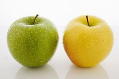 Which do you like? Yellow apple or green apple?