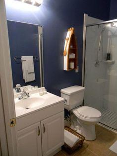 Perfect Love The Little Canoe/shelving, So Cute For A Lake House :). Nautical  Bathroom DecorBathrooms DecorBathroom ...