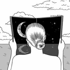 Henn Kim, Aries, Henna, Night, Instagram, Paper, Movie Posters, Black, Full Moon
