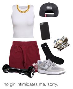 """Untitled #139"" by deondra30 ❤ liked on Polyvore featuring NIKE, Best, A.V. Max and Case-Mate"