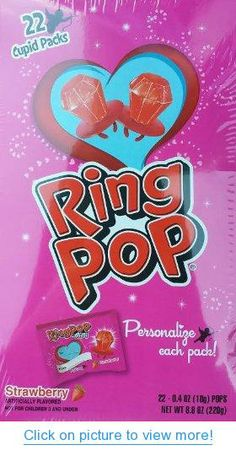 valentines day ring pops