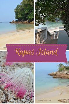 Kapas Island off the East coast of Malaysia is a quiet islet with beautiful beaches.