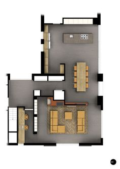 Bungalow House Plans, Small House Plans, House Floor Plans, Future House, My House, Small Apartments, Beautiful Interiors, Planer, Exterior Design